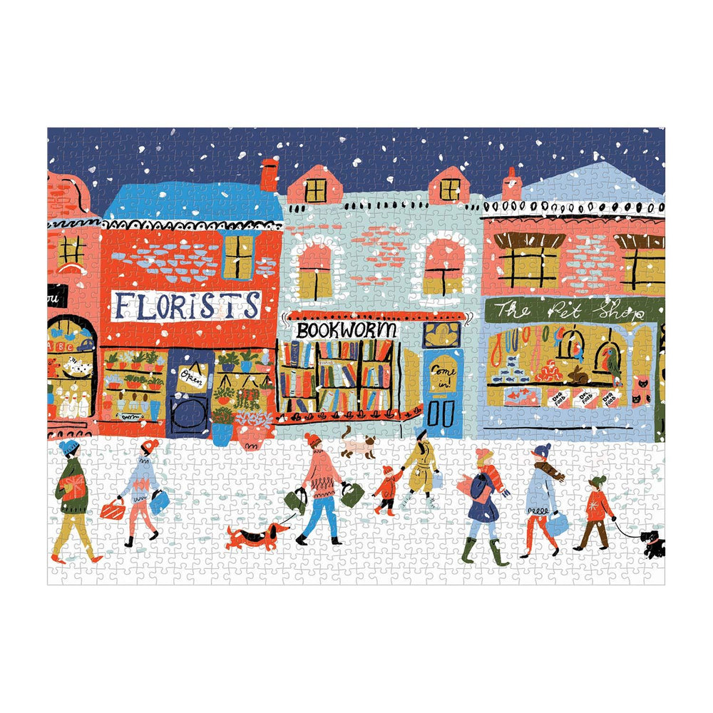 Main Street Village 1000 Piece Jigsaw Puzzle
