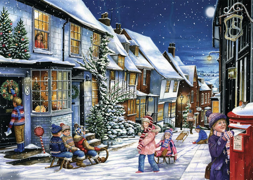 Playing in The Snow 1000 piece jigsaw puzzle - All Jigsaw Puzzles