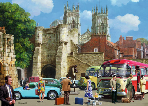 Arriving in York 1000 piece jigsaw puzzle - All Jigsaw Puzzles