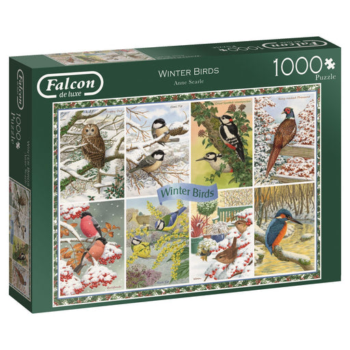 Winter Birds Montage Jigsaw Puzzle