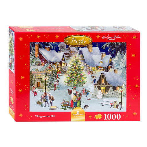 Village on the Hill - Coppenrath 1000 Piece Jigsaw Puzzle box
