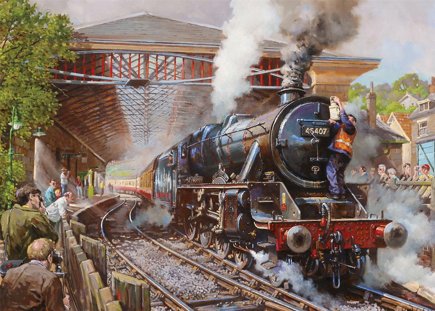 New 2020 Gibsons Pickering Station 1000 piece Jigsaw Puzzle - All Jigsaw Puzzles
