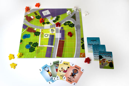 Capture the Flag Board Game by R.W.Butler Games - All Jigsaw Puzzles