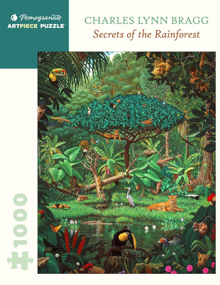 Charles Lynn Bragg: Secrets of the Rainforest 1000 Piece Jigsaw