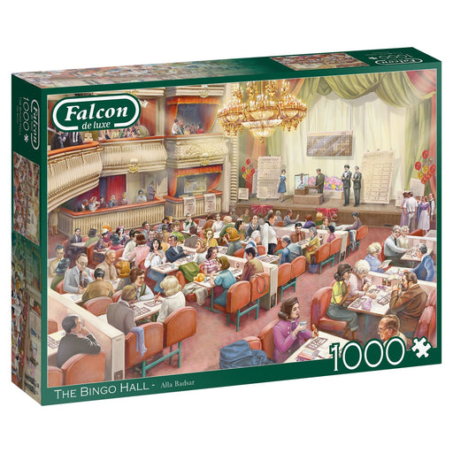 Falcon The Bingo Hall 1000 Piece Jigsaw Puzzle box