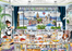 London Tea Party - Wanderlust Collection - 1000 Piece Jigsaw Puzzle - All Jigsaw Puzzles