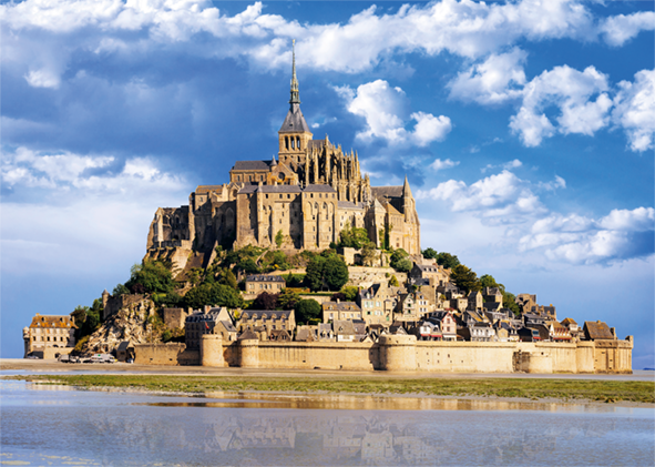 Mont Saint-Michel 1000 Piece Jigsaw Puzzle - All Jigsaw Puzzles