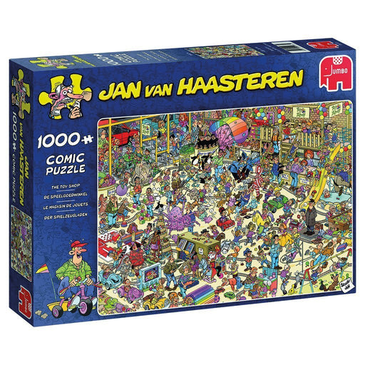 Jan Van Haasteren Toy Shop 1000 Piece Jigsaw Puzzle - All Jigsaw Puzzles