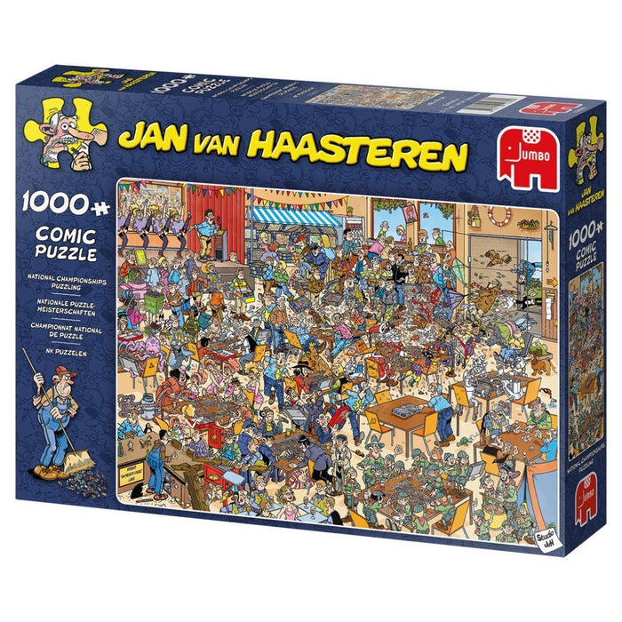 Jan van Haasteren National Puzzle Championship 1000 Piece Jigsaw Puzzle - All Jigsaw Puzzles