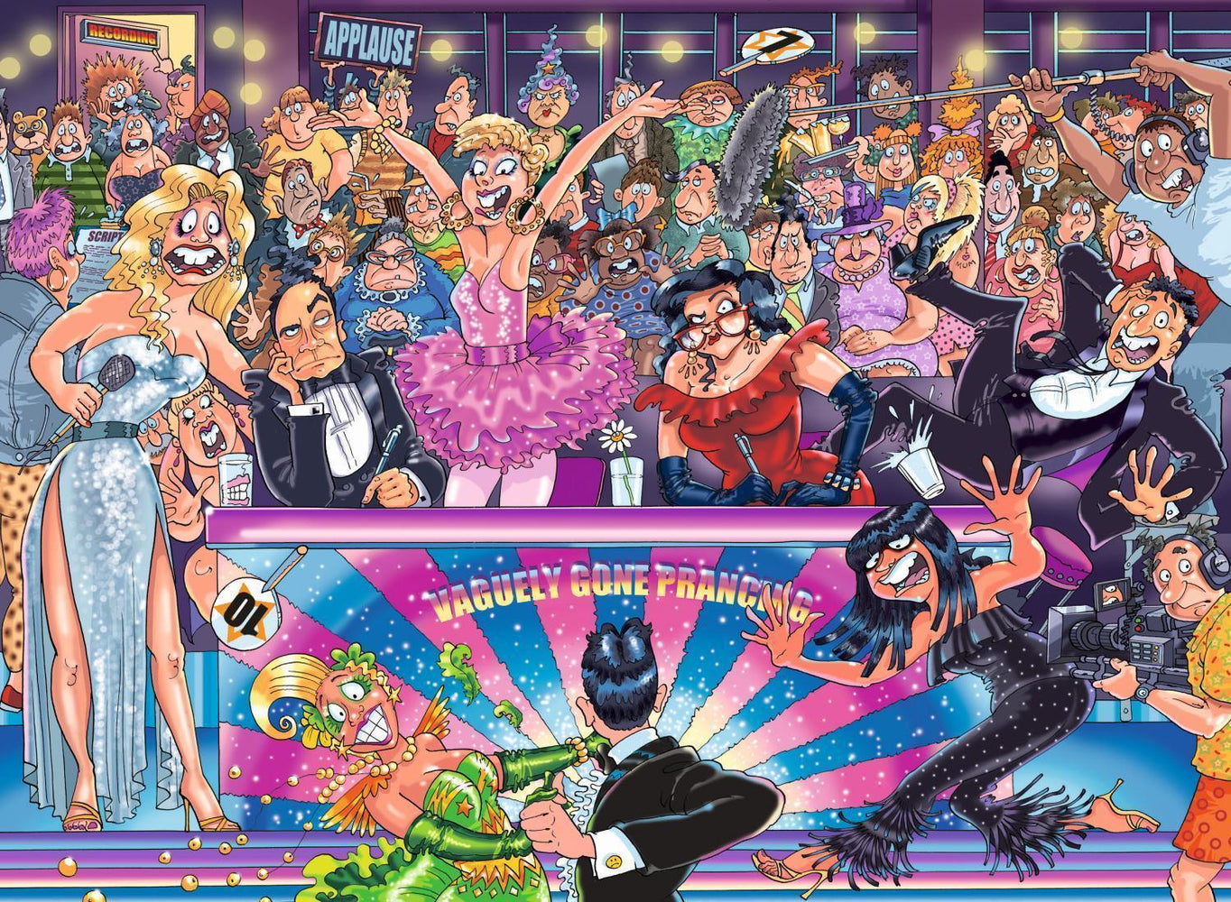 Wasgij Original 30 Strictly Can't Dance 1000 piece jigsaw puzzle - All Jigsaw Puzzles
