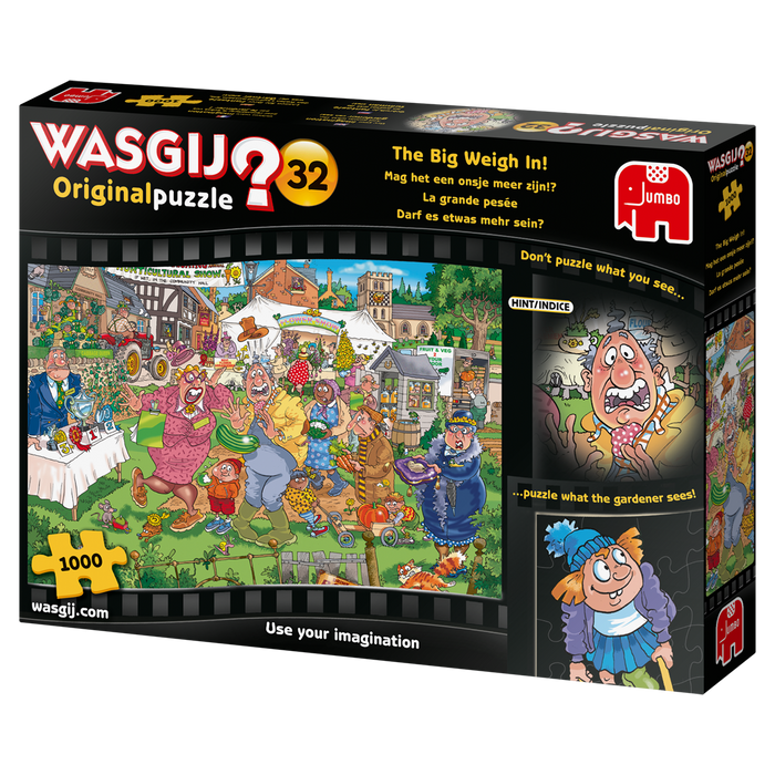 Wasgij Original 32 'The Big Weigh In' 1000 Piece Jigsaw Puzzle - All Jigsaw Puzzles