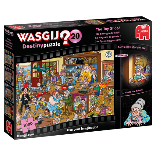 Wasgij Destiny 20 'The Toy Shop' 1000 Piece Jigsaw Puzzle - All Jigsaw Puzzles