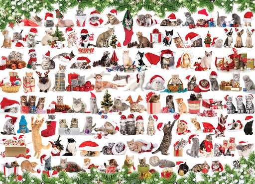 Holiday Cats 1000 Piece Jigsaw Puzzle