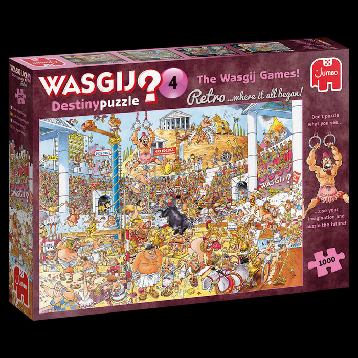 NEW Wasgij Destiny Retro 4 Olympic Odyssey 1000 Piece Jigsaw