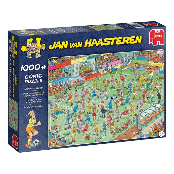 World Championships Womens Soccer - Jan Van Haasteren 1000 Piece Jigsaw Puzzl box 2