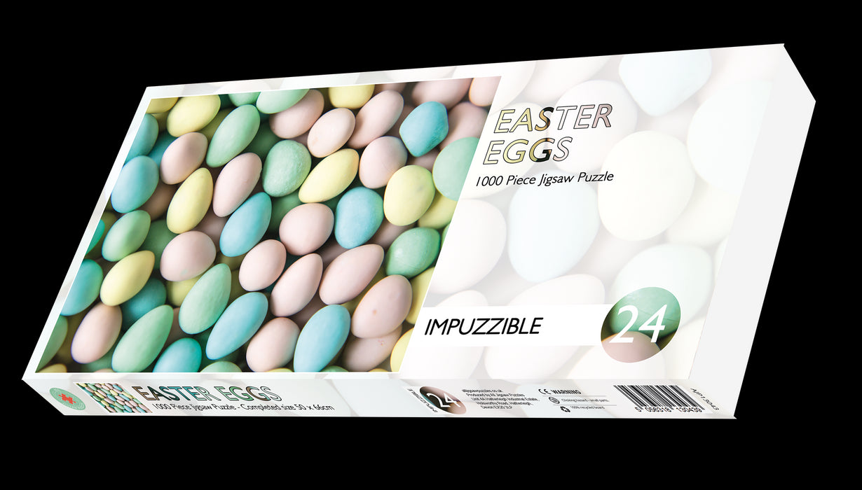 Easter Eggs - Impuzzible No. 24 - 1000 Piece Jigsaw Puzzle box