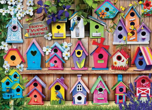 Bird Houses 1000 Piece Jigsaw Puzzle - All Jigsaw Puzzles