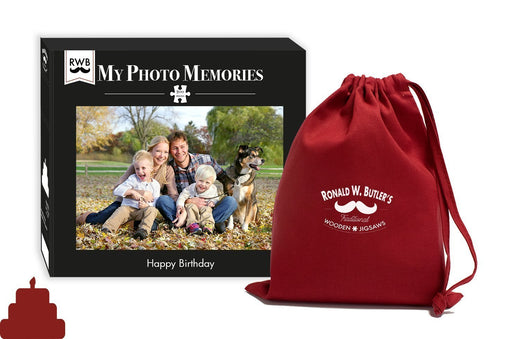 My Photo Memories - Happy Birthday - 200 Piece Wooden Puzzle - All Jigsaw Puzzles