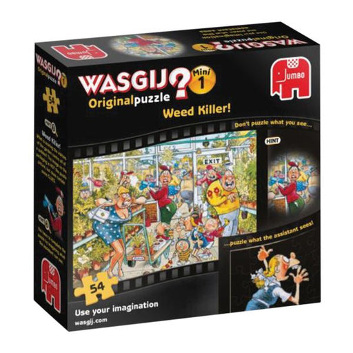 Wasgij Mini Original 1 Weed Killer Free Gift - All Jigsaw Puzzles
