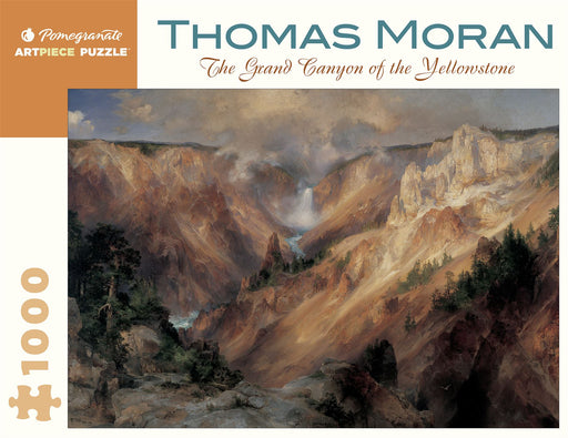Thomas Moran: The Grand Canyon of the Yellowstone 1000 Piece Jigsaw