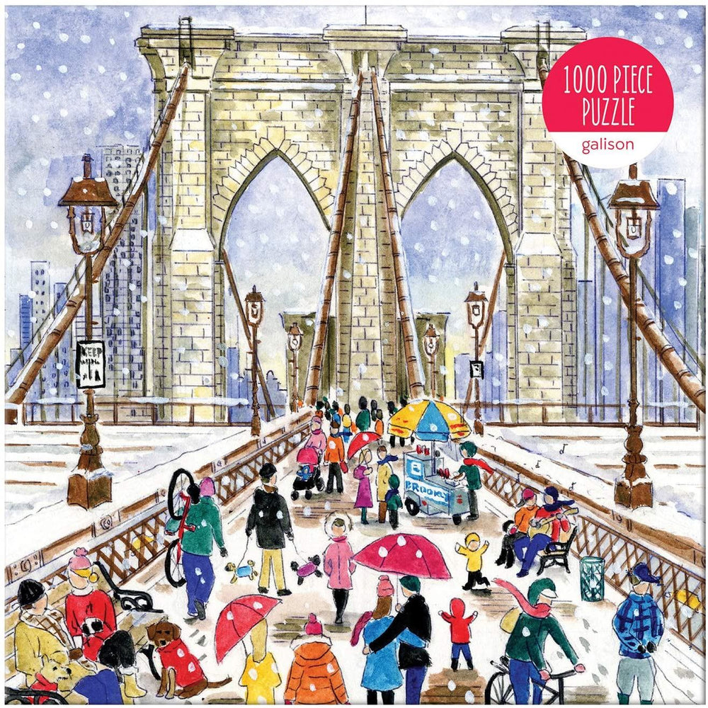 Michael Storrings Brooklyn Bridge 1000 Piece Jigsaw Puzzle