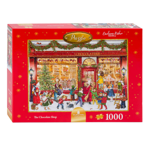 The Chocolate Shop - Coppenrath 1000 Piece Jigsaw Puzzle box