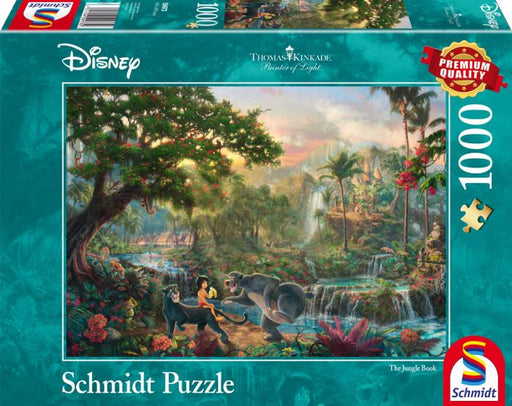 Thomas Kinkade - Disney The Jungle Book 1000 Pieces - All Jigsaw Puzzles