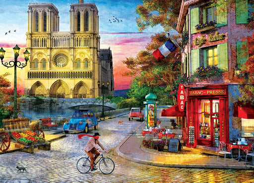 Notre Dame - Dominic Davison 1000 Piece Jigsaw Puzzle - All Jigsaw Puzzles