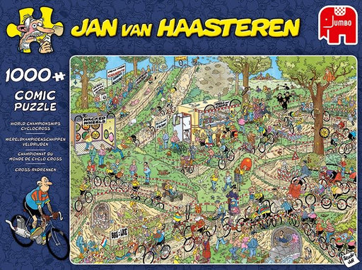 Jan van Haasteren World Championship Cyclo-Cross 1000 Piece Jigsaw Puzzle - All Jigsaw Puzzles