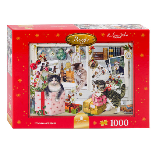 Christmas Kittens - Coppenrath 1000 Piece Jigsaw Puzzle box
