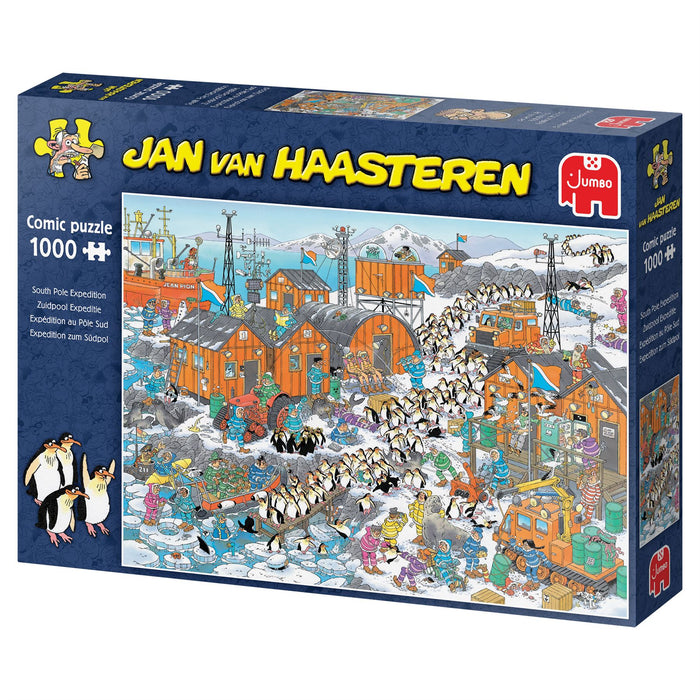 Jan van Haasteren South Pole Expedition 1000 Piece Jigsaw Puzzle box 3