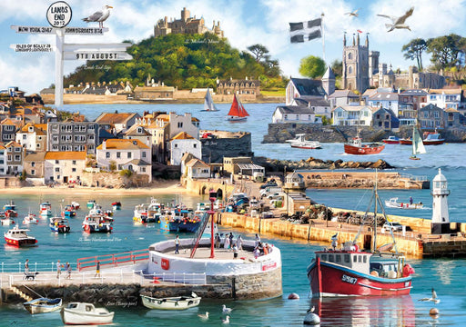 Cornwall Montage 1000 Pice Jigsaw Puzzle