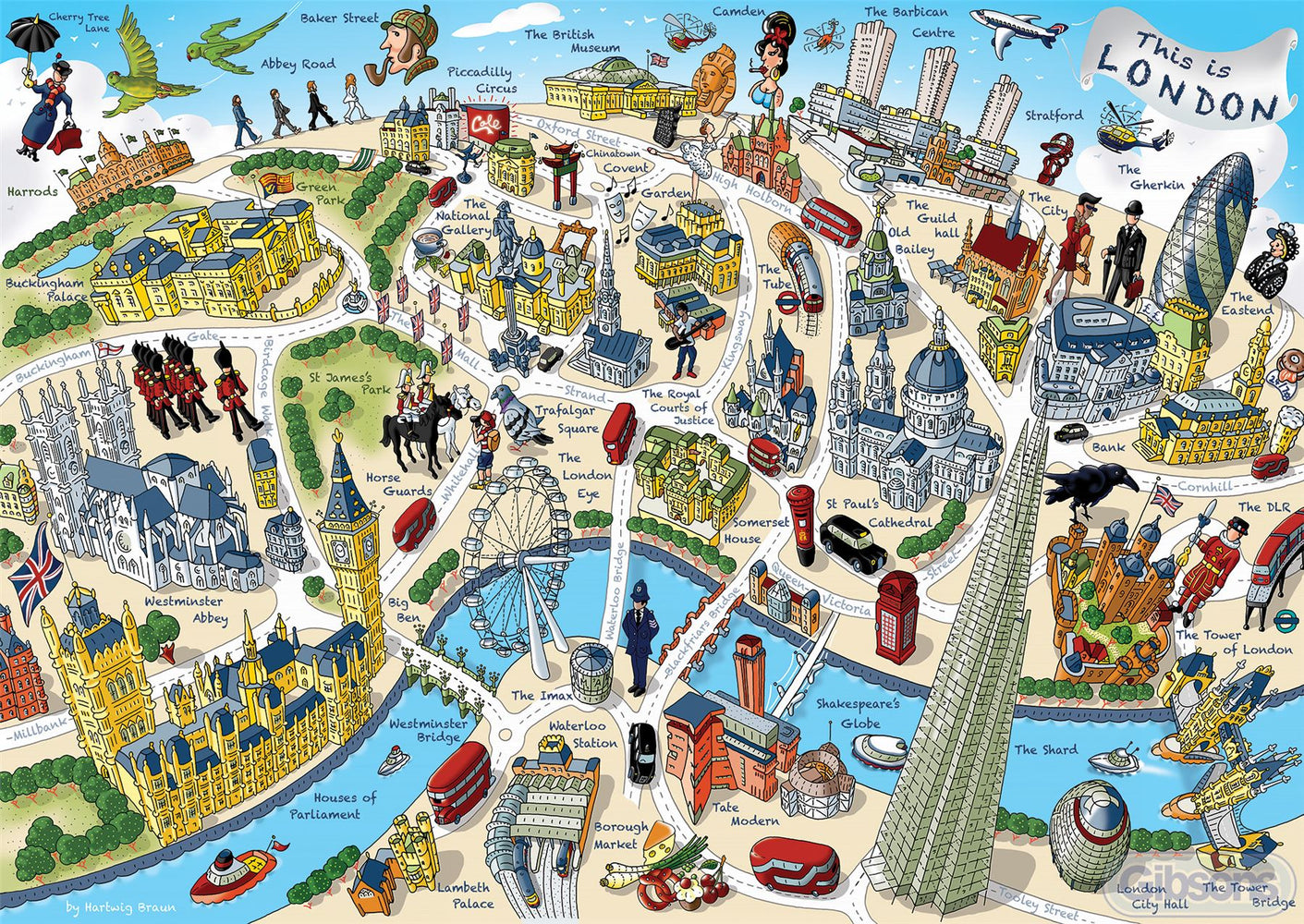 This is London 500 Piece Jigsaw Puzzle