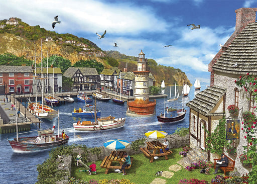New 2020 Gibsons Lighthouse Bay 1000 piece Jigsaw Puzzle - All Jigsaw Puzzles