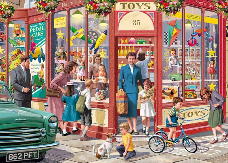 New 2020 -  Falcon de luxe The Toy Shop 1000 Piece Jigsaw Puzzle - All Jigsaw Puzzles