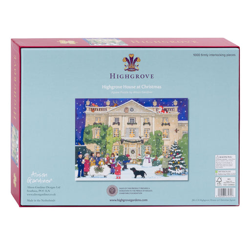 Highgrove House at Christmas 1000 Piece Jigsaw Puzzle box