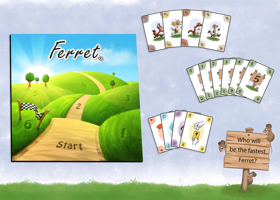 Ferret Board Game by R.W.Butler Games - All Jigsaw Puzzles