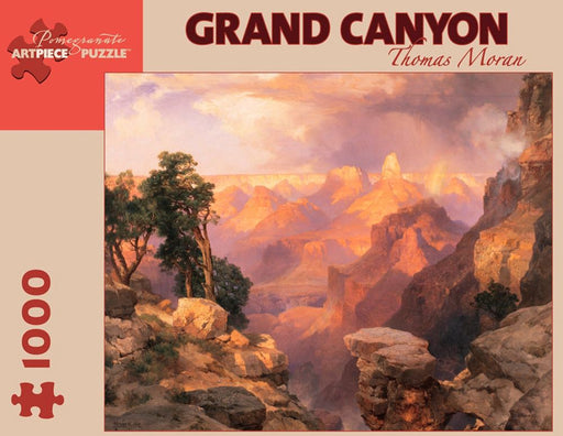Grand Canyon: Thomas Moran Fine Arts Museums of San Francisco 1000 Piece Jigsaw Puzzle Thomas Moran was the premier painter of the American West