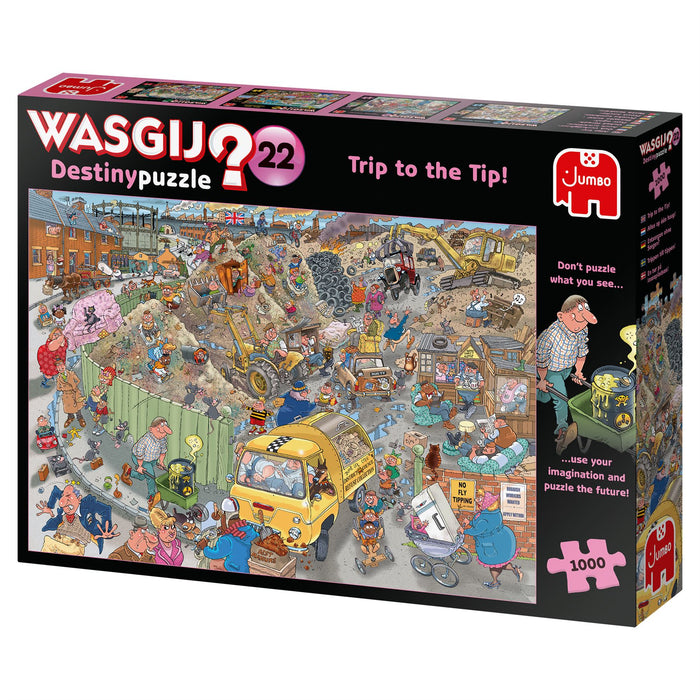 Wasgij Destiny 22 A Trip to the Tip! 1000 Piece Jigsaw Puzzle 3