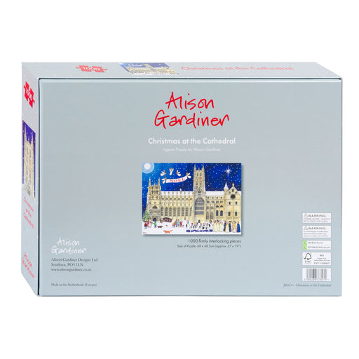 Christmas at the Cathedral 1000 Piece Jigsaw Puzzle box