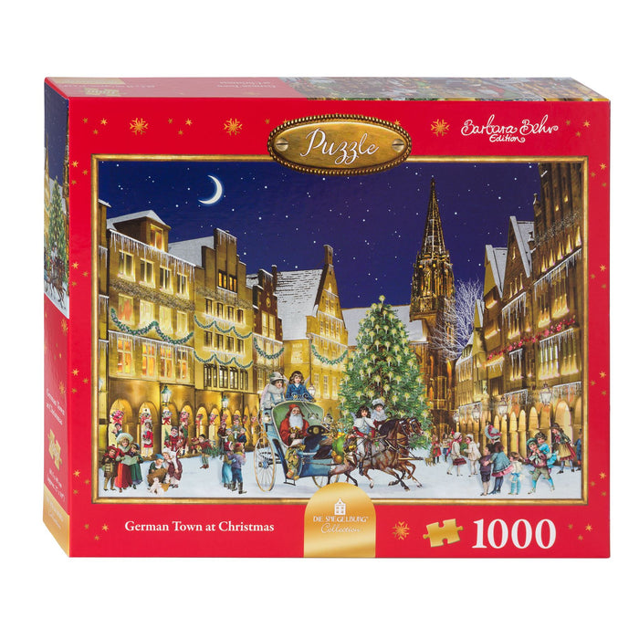 The German Town - Coppenrath 1000 Piece Jigsaw Puzzle box