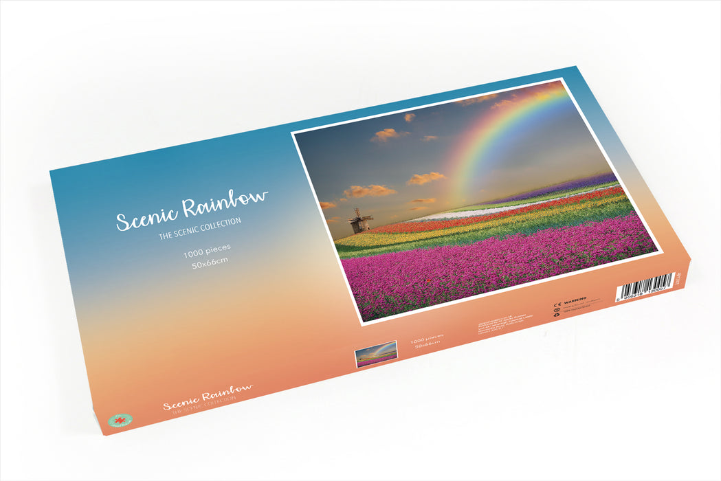 Scenic Rainbow 1000 Piece Jigsaw Puzzle - All Jigsaw Puzzles