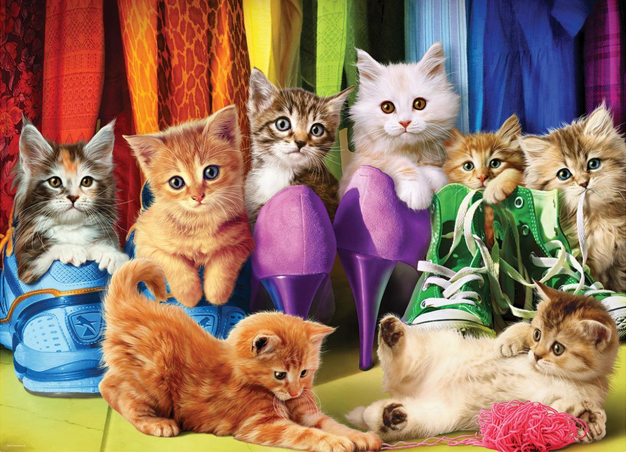 Kitten Pride 1000 Piece Jigsaw Puzzle - All Jigsaw Puzzles