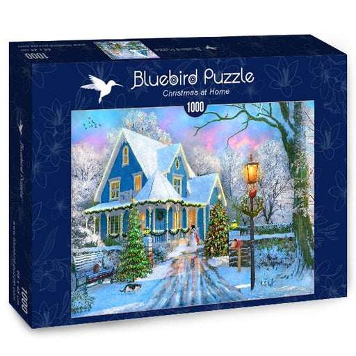 Christmas at Home 1000 Piece Jigsaw Puzzle box