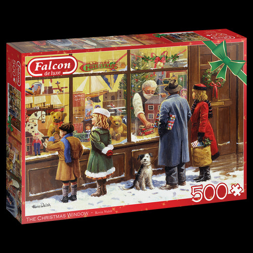 The Christmas Window 500 Piece Jigsaw Puzzle - All Jigsaw Puzzles