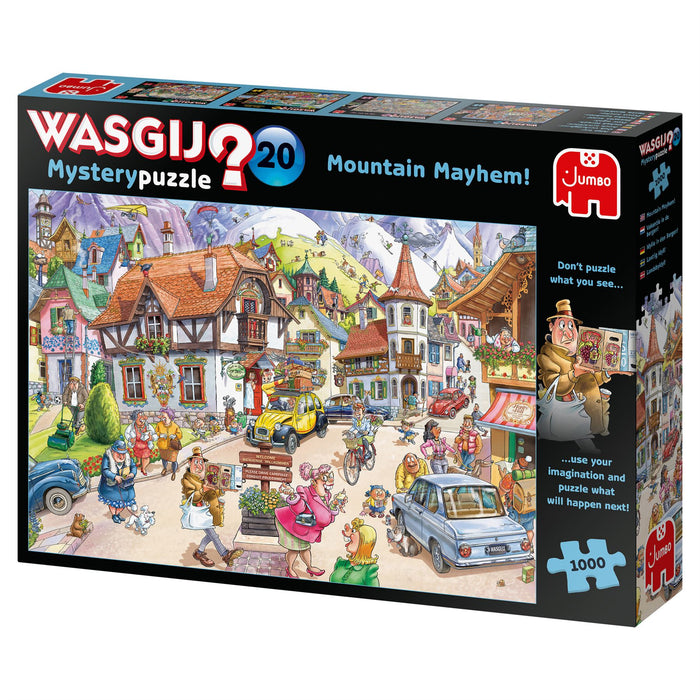 Wasgij Mystery 20 Mountain Mayhem! 1000 Piece Jigsaw Puzzle 3