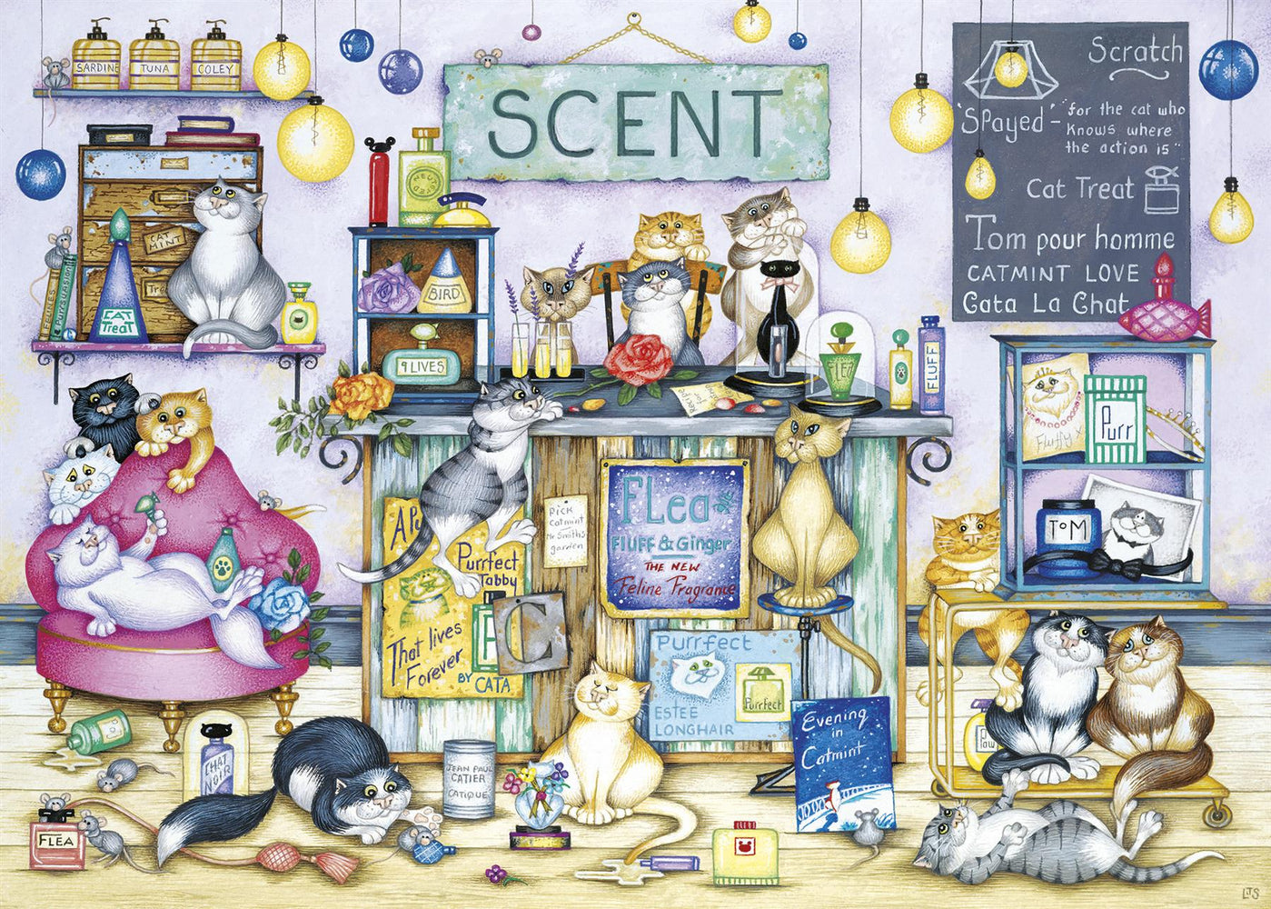 New 2020 Gibsons Scent 1000 piece Jigsaw Puzzle - All Jigsaw Puzzles