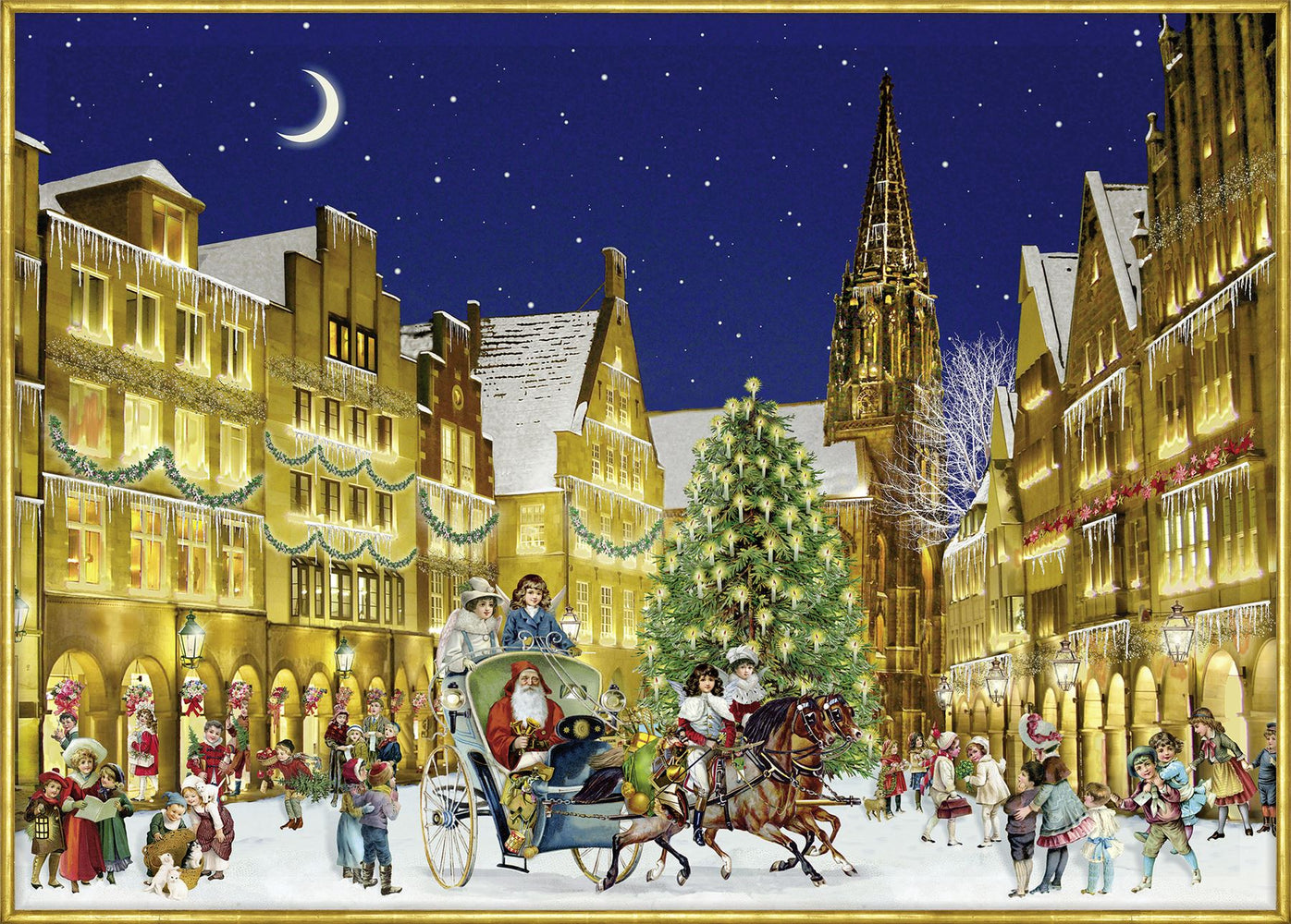 The German Town - Coppenrath 1000 Piece Jigsaw Puzzle