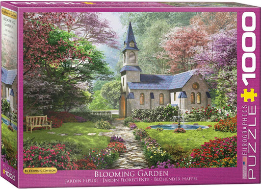 Blooming Garden - Dominic Davison 1000 Piece Jigsaw Puzzle - All Jigsaw Puzzles
