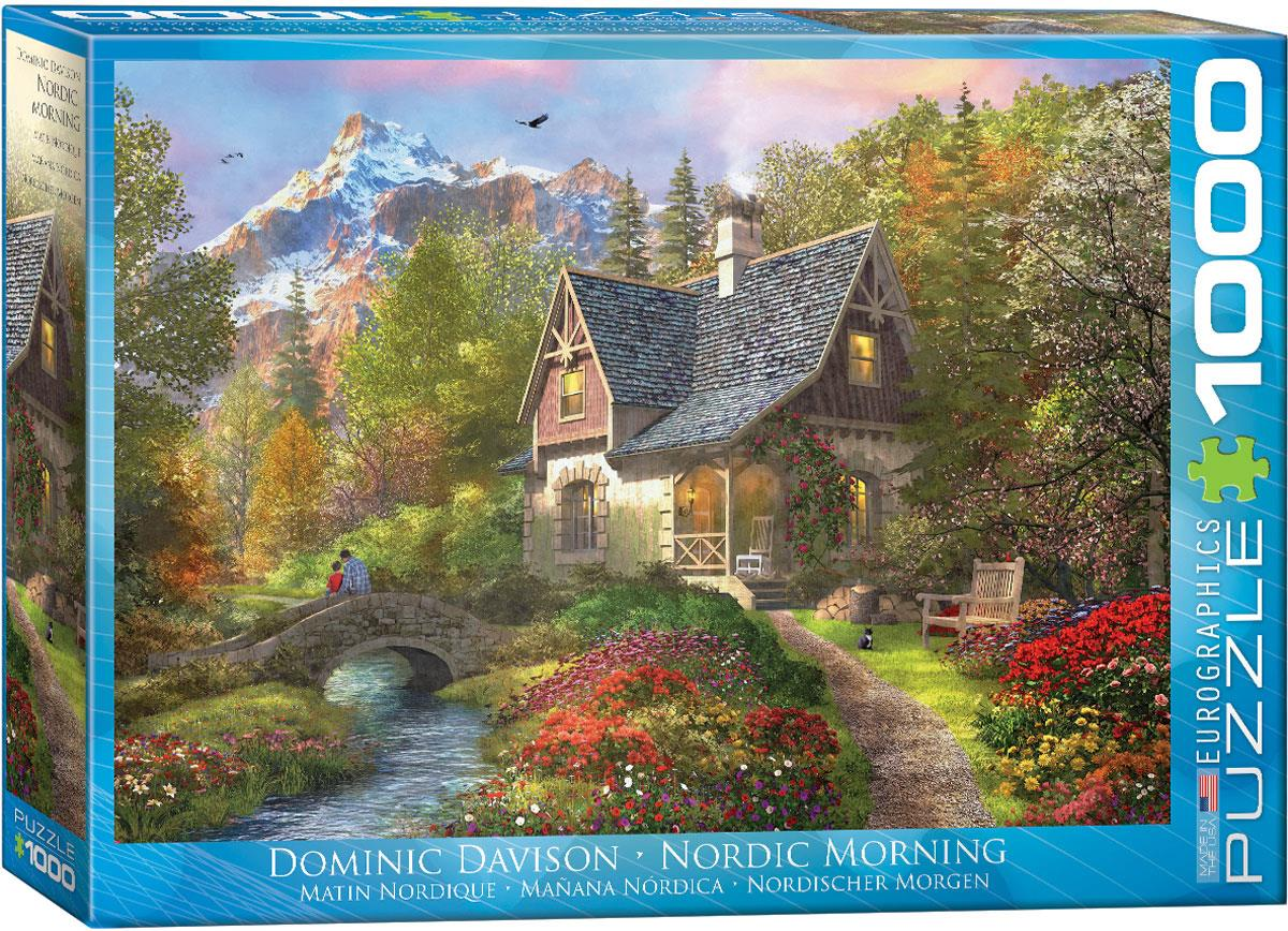 Nordic Morning - Dominic Davison 1000 Piece Jigsaw Puzzle - All Jigsaw Puzzles